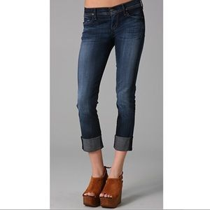 Citizens Of Humanity Dani Cropped Straight Jeans.